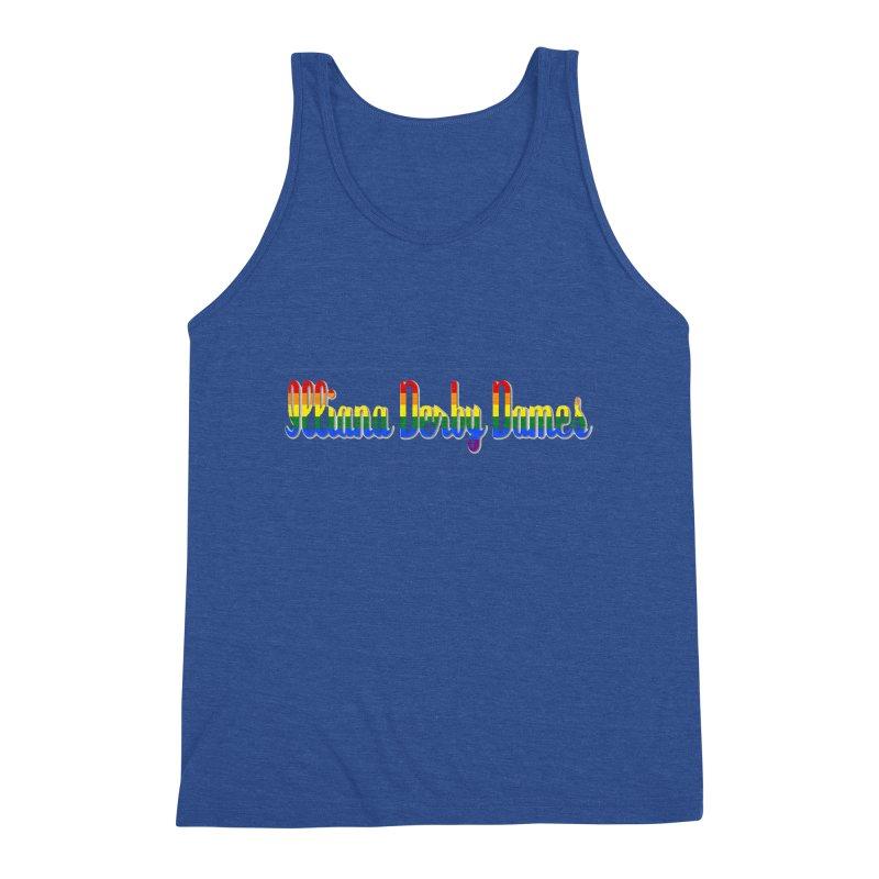 Rainbow IDD Men's Tank by Illiana Derby Dames's Team Merch Shop