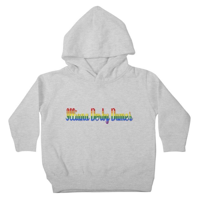 Rainbow IDD Kids Toddler Pullover Hoody by Illiana Derby Dames's Team Merch Shop