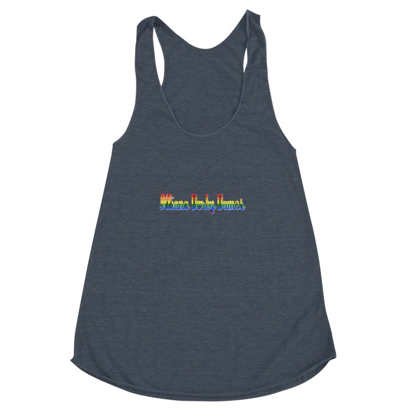 Rainbow IDD Women's Racerback Triblend Tank by Illiana Derby Dames's Team Merch Shop