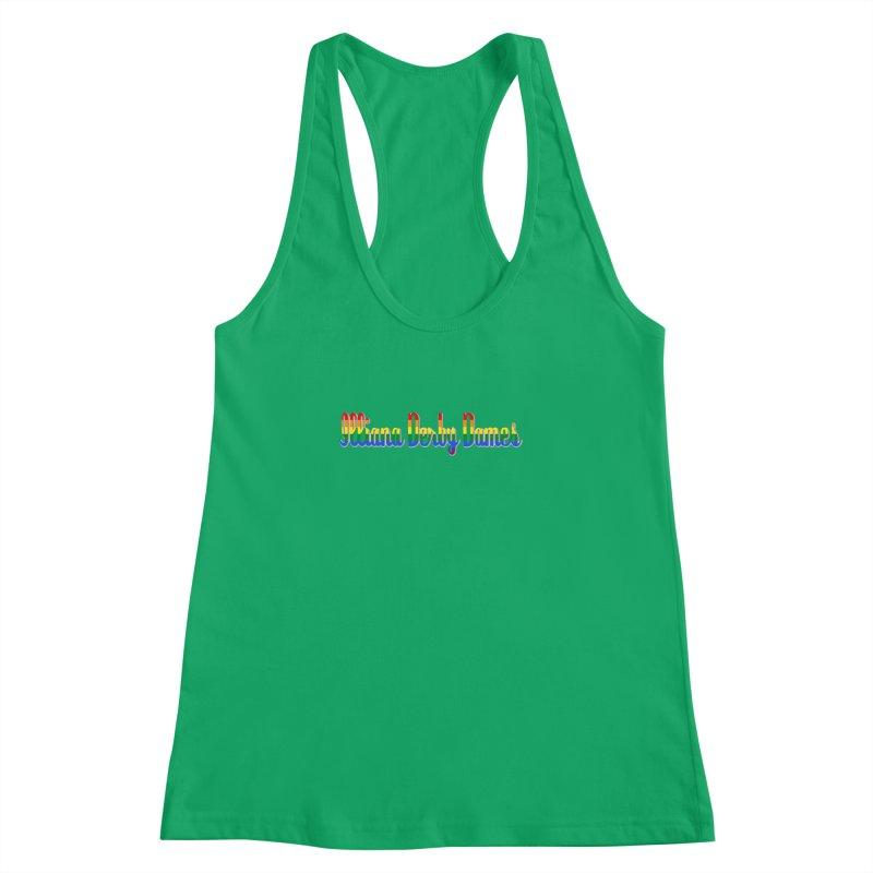 Rainbow IDD Women's Racerback Tank by Illiana Derby Dames's Team Merch Shop