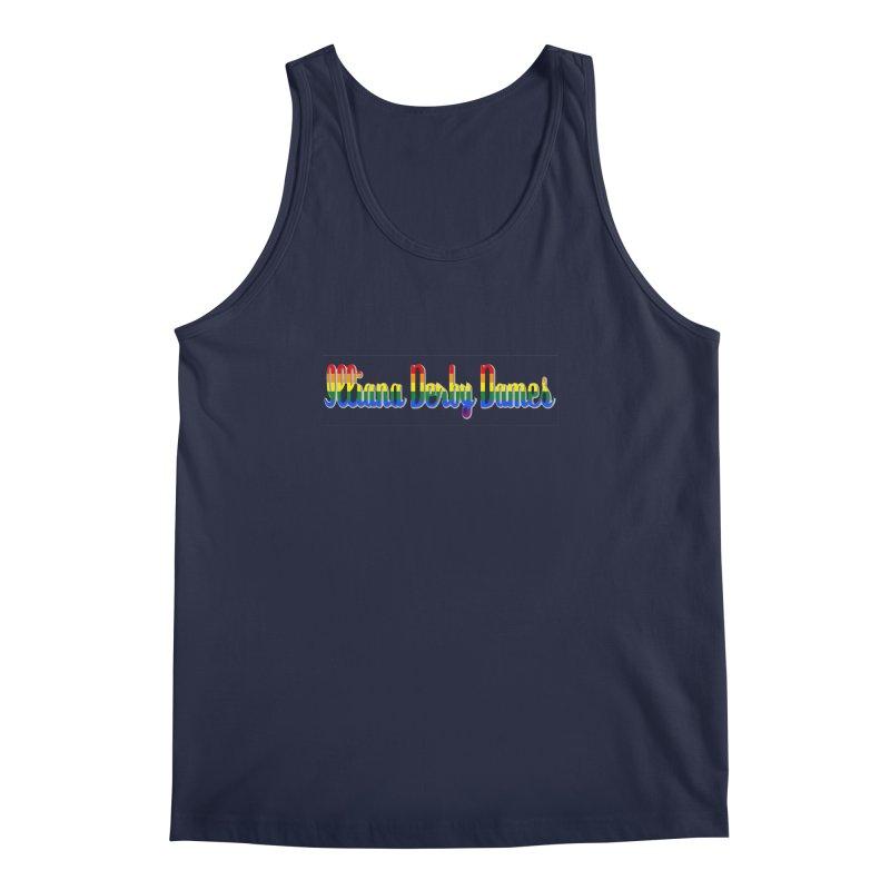 Rainbow IDD Men's Regular Tank by Illiana Derby Dames's Team Merch Shop
