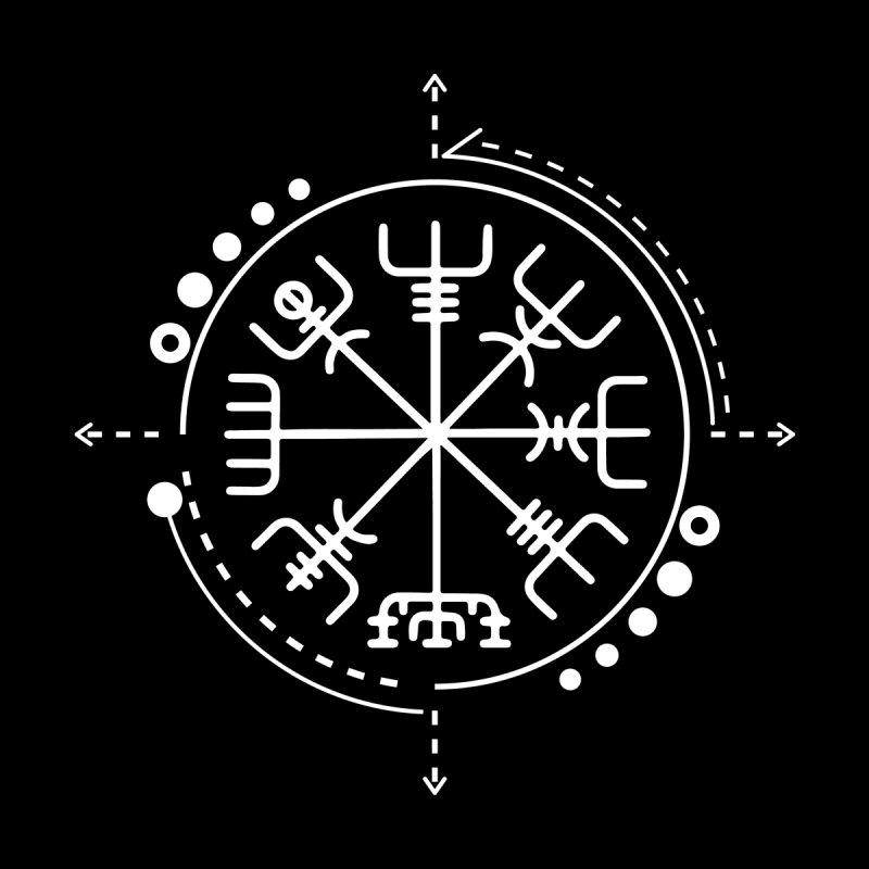 Illustreat Vegvisir Norse Pagan Symbol 1