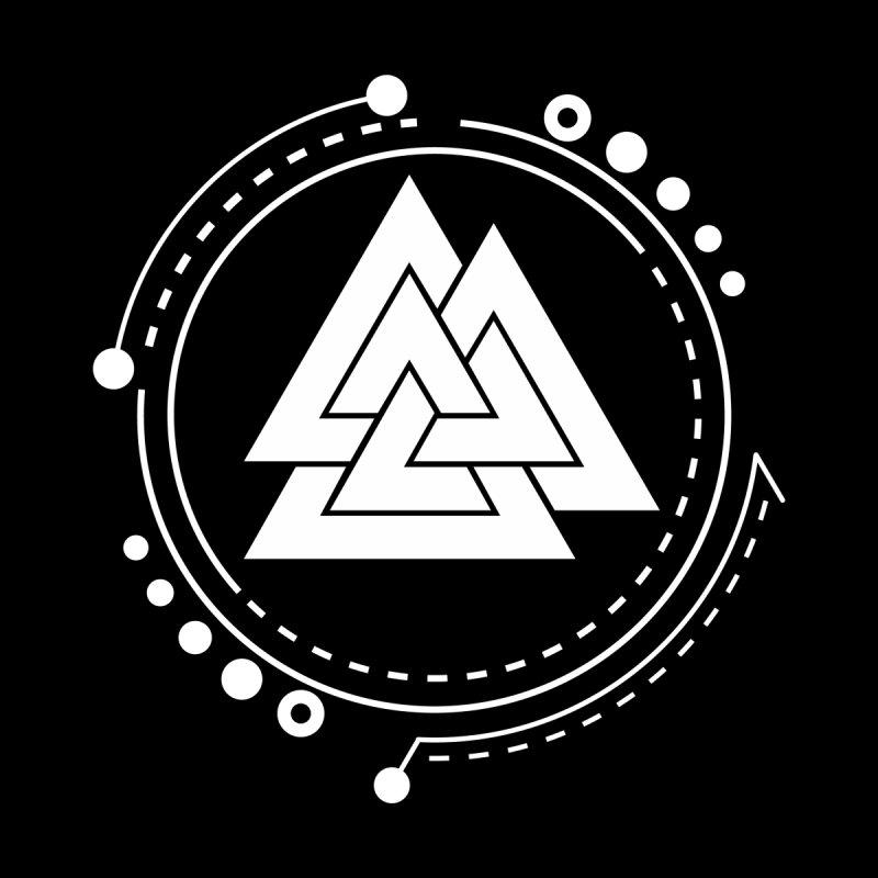 Illustreat Valknut Norse Pagan Symbol 1