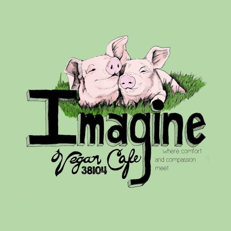 Imagine Piggy Shirt Women's T-Shirt by Imaginevegancafe's Artist Shop