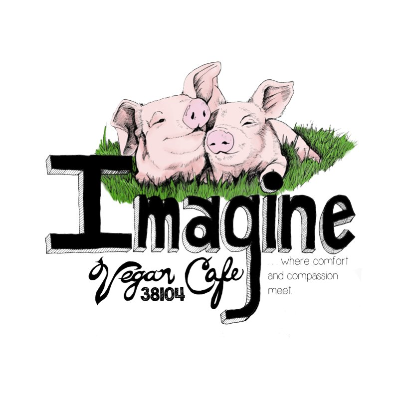 Imagine Piggy Shirt by Imaginevegancafe's Artist Shop