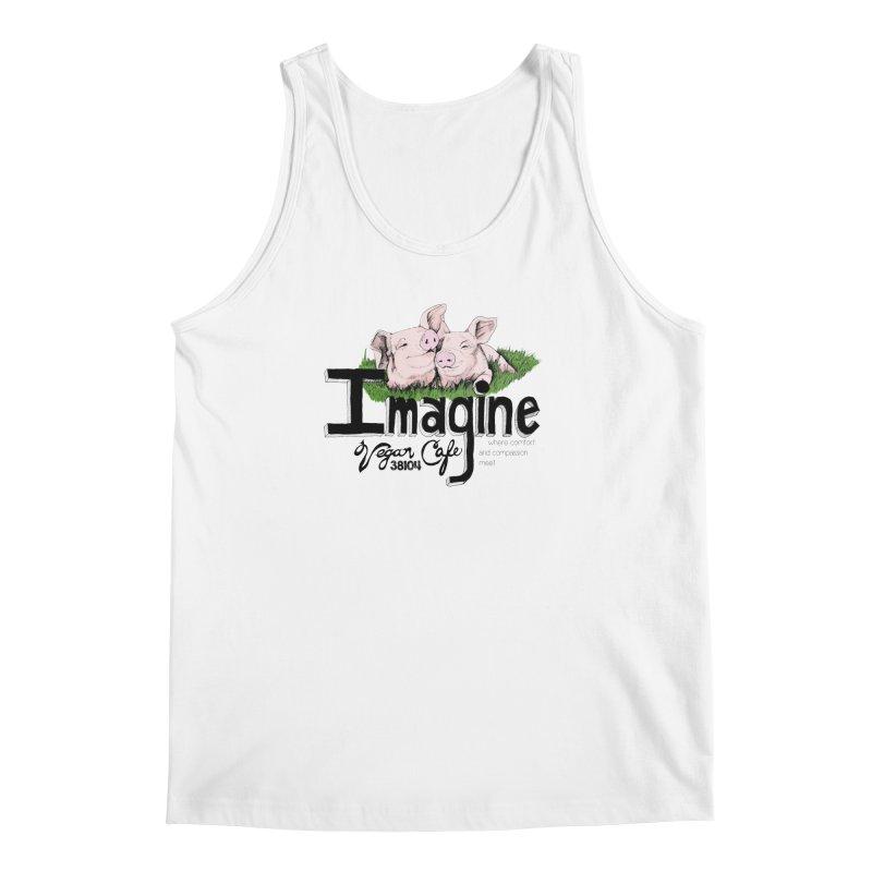 Imagine Piggy Shirt Men's Regular Tank by Imaginevegancafe's Artist Shop
