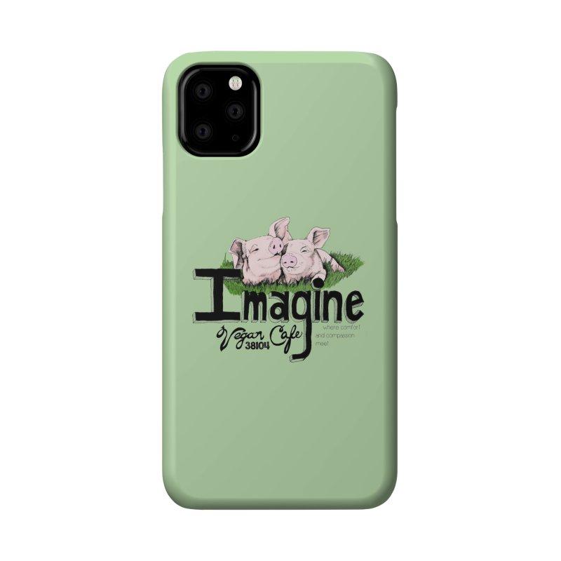 Imagine Piggy Shirt Accessories Phone Case by Imaginevegancafe's Artist Shop