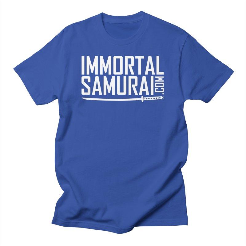 Immortal Samurai Sword Men's T-Shirt by Immortalsamurai's Artist Shop