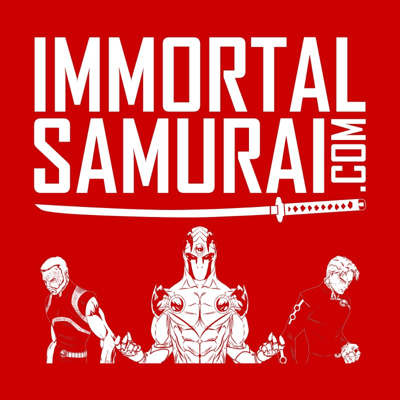 Immortal Samurai Three Men's T-Shirt by Immortalsamurai's Artist Shop