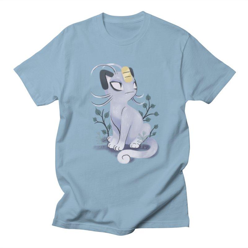 Alolan Meowth Women's Unisex T-Shirt by ImogenSartain's Artist Shop