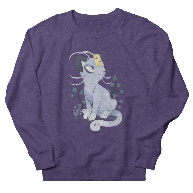 Alolan Meowth Women's Sweatshirt by ImogenSartain's Artist Shop