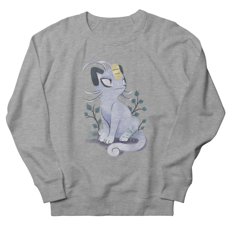 Alolan Meowth Men's Sweatshirt by ImogenSartain's Artist Shop