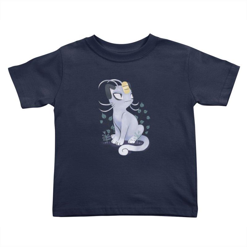 Alolan Meowth Kids Toddler T-Shirt by ImogenSartain's Artist Shop
