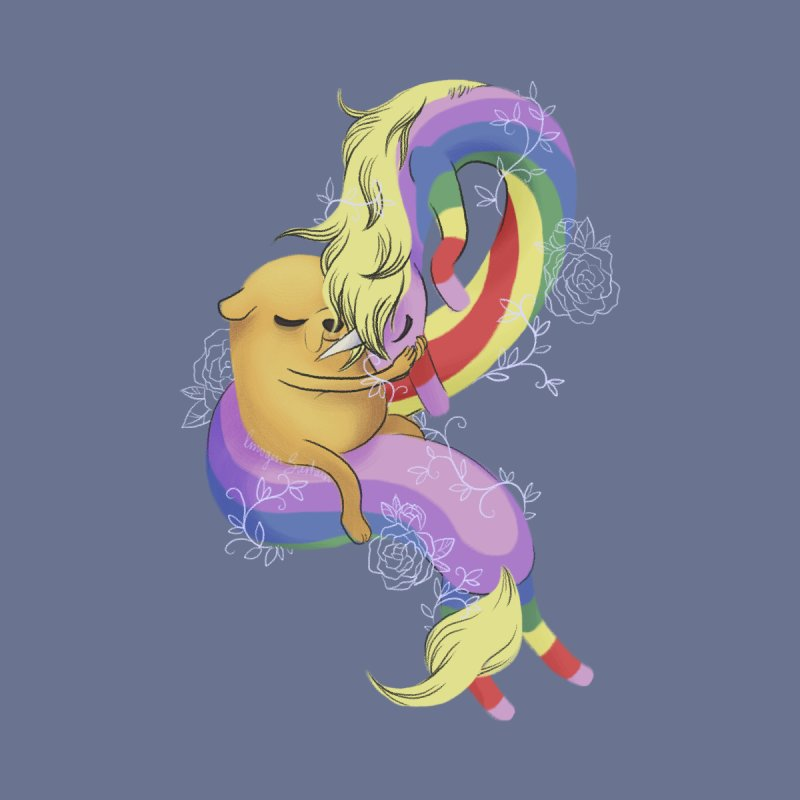 Jake and Lady Rainicorn None  by ImogenSartain's Artist Shop