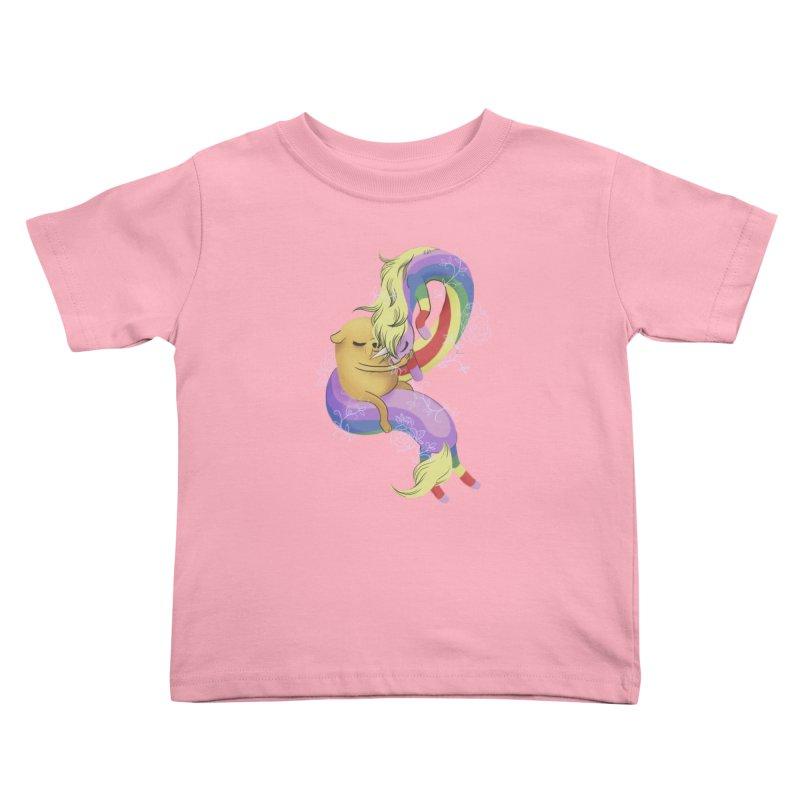 Jake and Lady Rainicorn Kids Toddler T-Shirt by ImogenSartain's Artist Shop