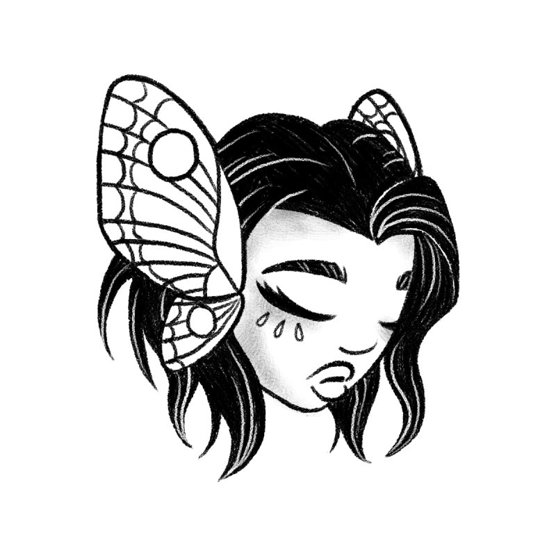 Mothgirl None  by ImogenSartain's Artist Shop