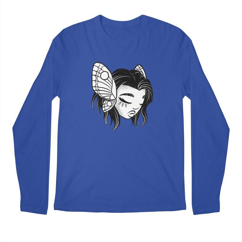 Mothgirl Men's Longsleeve T-Shirt by ImogenSartain's Artist Shop