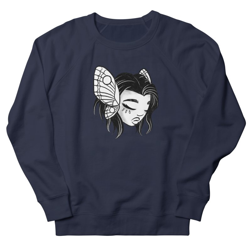 Mothgirl Women's Sweatshirt by ImogenSartain's Artist Shop