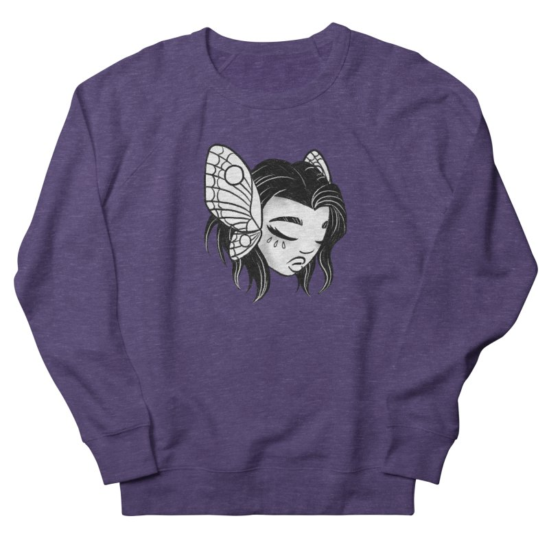 Mothgirl Men's Sweatshirt by ImogenSartain's Artist Shop