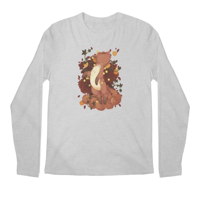 Vulpix Noir Men's Longsleeve T-Shirt by ImogenSartain's Artist Shop