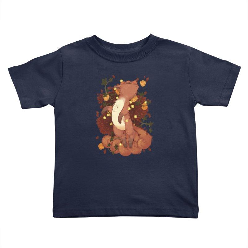 Vulpix Noir Kids Toddler T-Shirt by ImogenSartain's Artist Shop