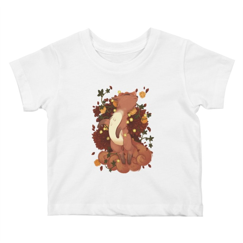 Vulpix Noir Kids Baby T-Shirt by ImogenSartain's Artist Shop