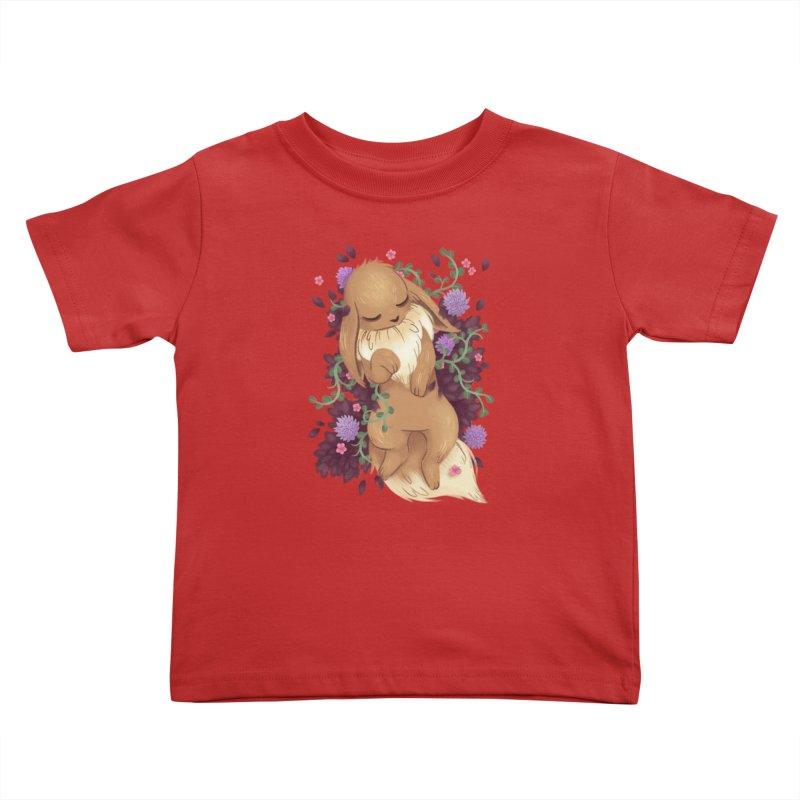 Eevee Noir Kids Toddler T-Shirt by ImogenSartain's Artist Shop