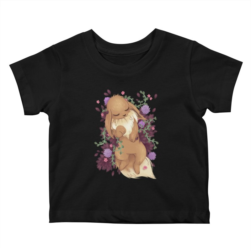 Eevee Noir Kids Baby T-Shirt by ImogenSartain's Artist Shop