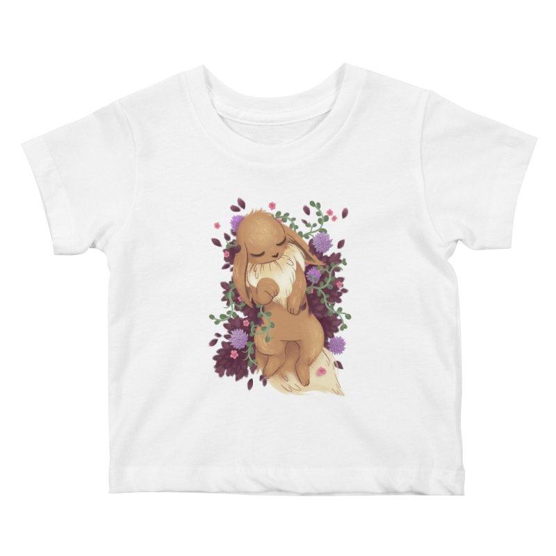 Eevee Noir Kids Baby T-Shirt by ImogenSartain's Artist Shop