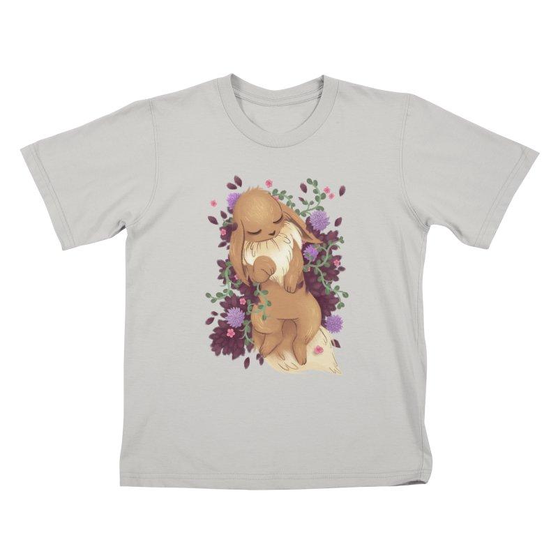 Eevee Noir Kids T-shirt by ImogenSartain's Artist Shop