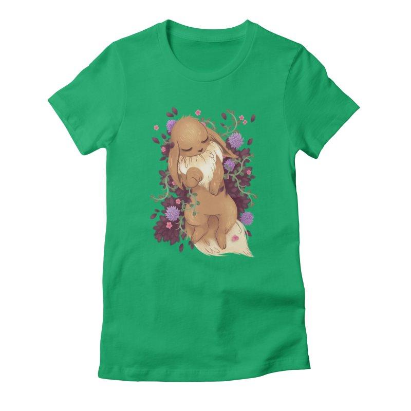 Eevee Noir Women's Fitted T-Shirt by ImogenSartain's Artist Shop
