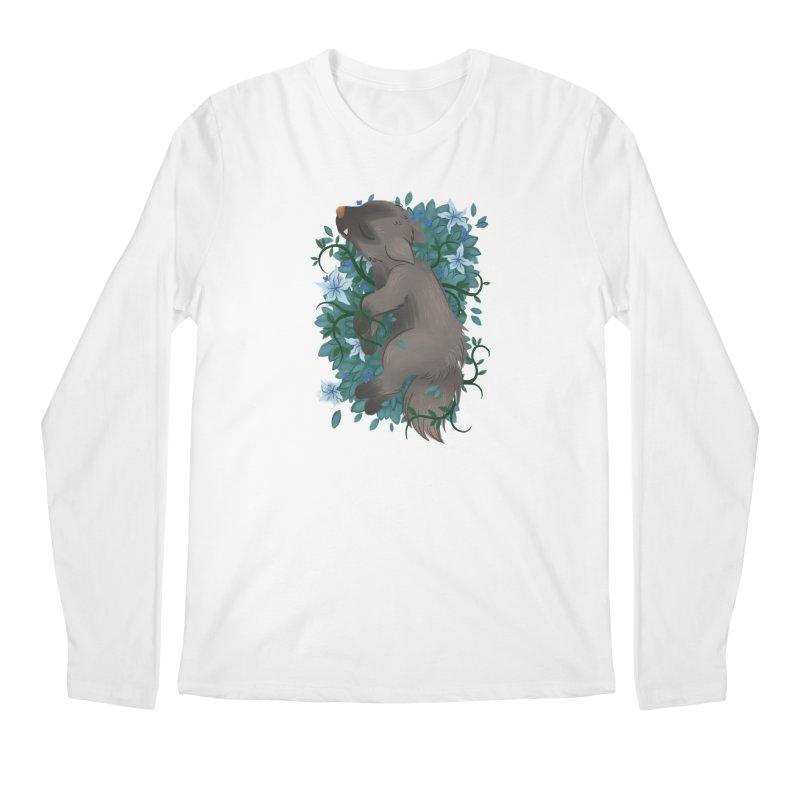 Poochyena Noir Men's Longsleeve T-Shirt by ImogenSartain's Artist Shop