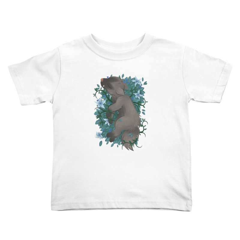 Poochyena Noir Kids Toddler T-Shirt by ImogenSartain's Artist Shop