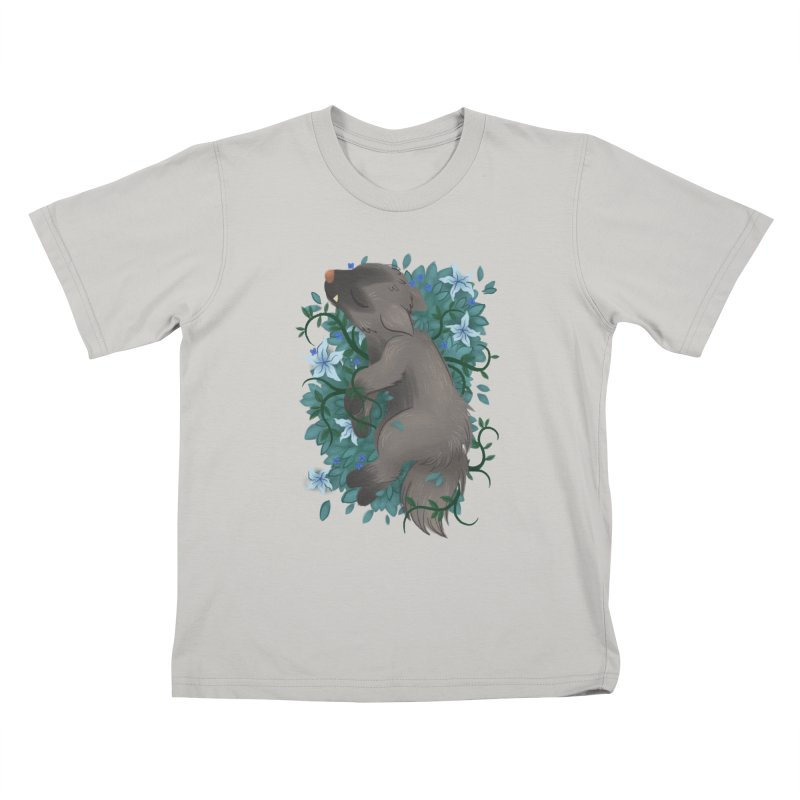 Poochyena Noir Kids T-Shirt by ImogenSartain's Artist Shop