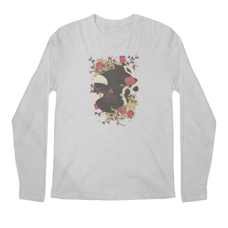 Houndour Noir Men's Longsleeve T-Shirt by ImogenSartain's Artist Shop
