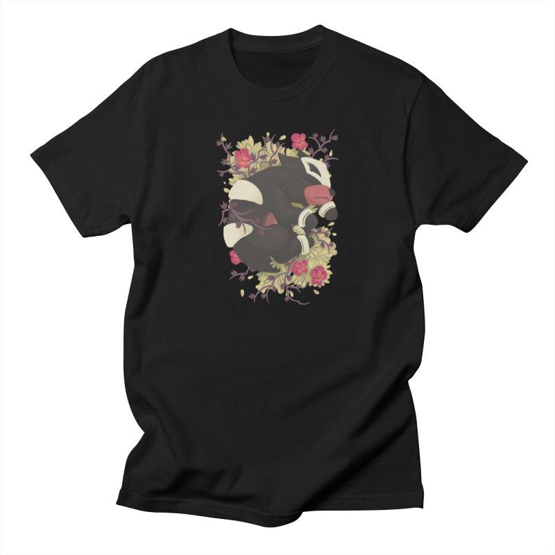 Houndour Noir Men's T-shirt by ImogenSartain's Artist Shop