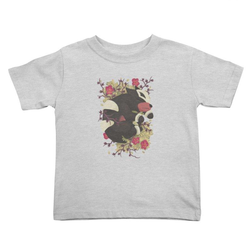 Houndour Noir Kids Toddler T-Shirt by ImogenSartain's Artist Shop