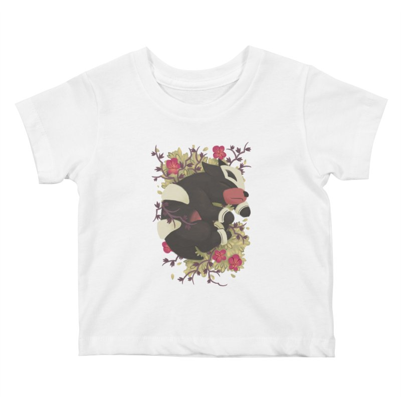 Houndour Noir Kids Baby T-Shirt by ImogenSartain's Artist Shop