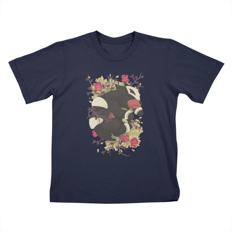 Houndour Noir Kids T-Shirt by ImogenSartain's Artist Shop