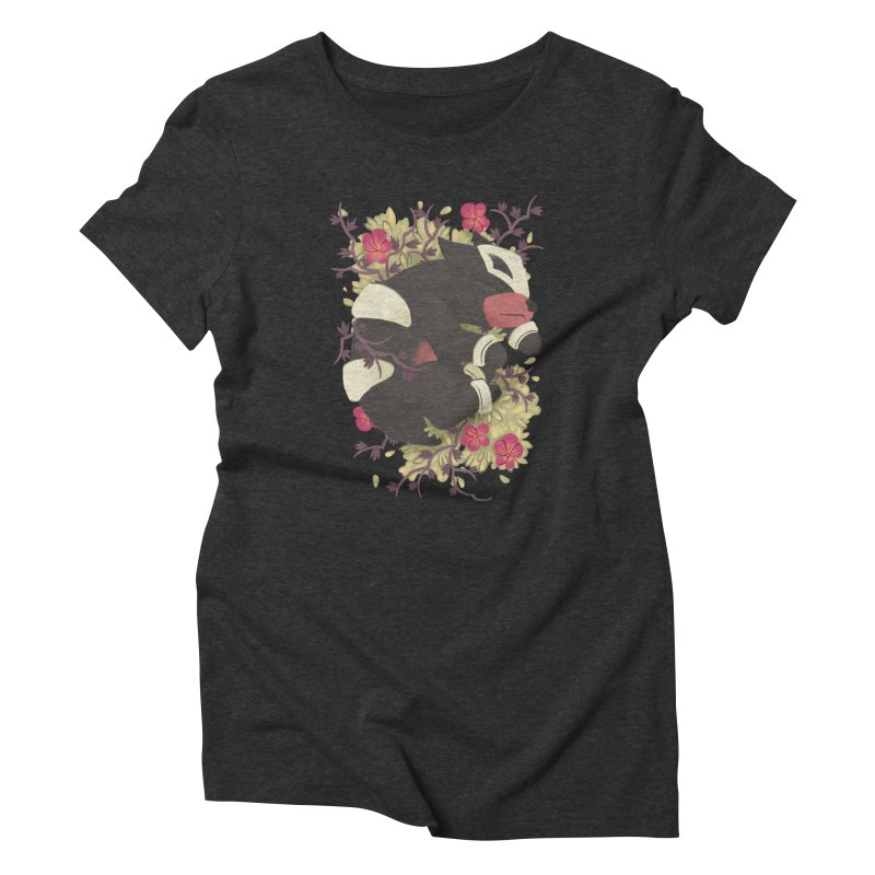 Houndour Noir Women's Triblend T-Shirt by ImogenSartain's Artist Shop