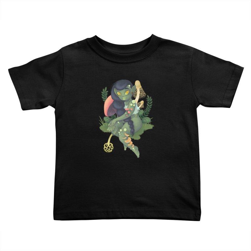Fungus Kids Toddler T-Shirt by ImogenSartain's Artist Shop