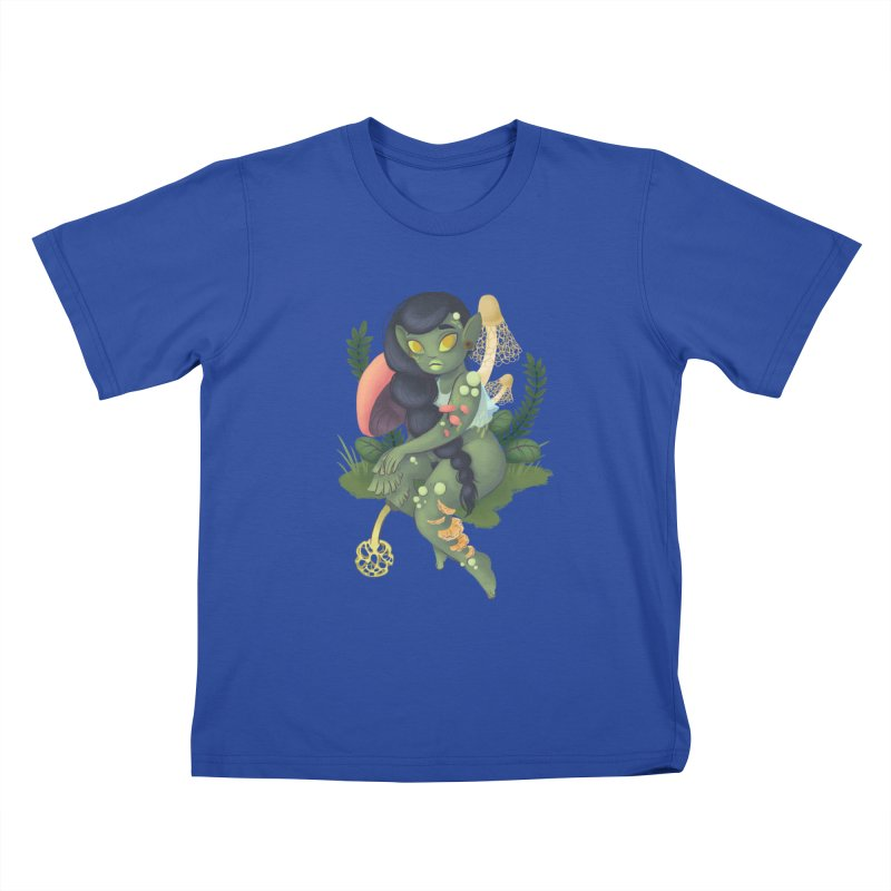 Fungus Kids T-Shirt by ImogenSartain's Artist Shop