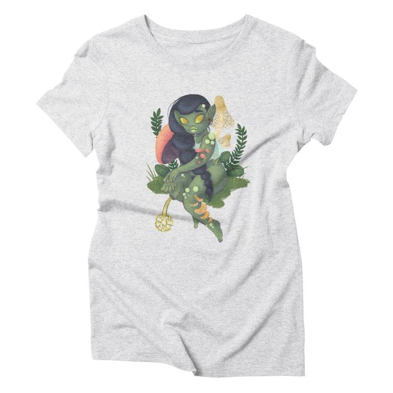Fungus Women's Triblend T-Shirt by ImogenSartain's Artist Shop