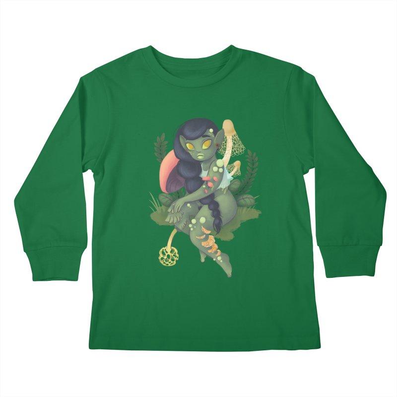 Fungus Kids Longsleeve T-Shirt by ImogenSartain's Artist Shop