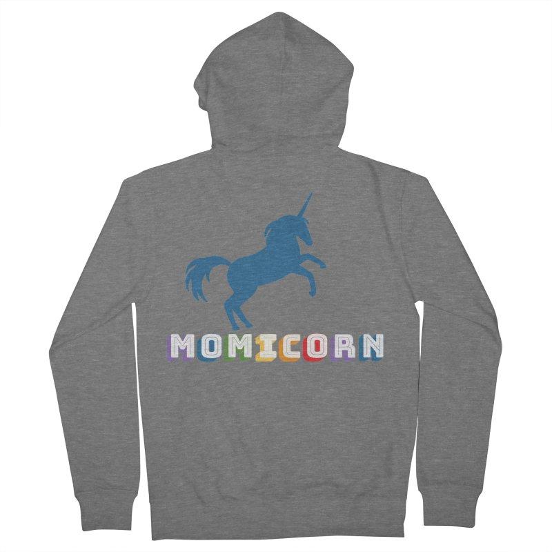 Momicorn Women's Zip-Up Hoody by Improv Parenting Shop
