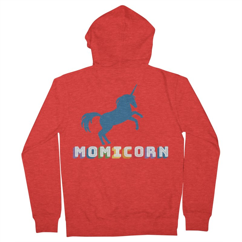 Momicorn Women's Zip-Up Hoody by Improv Parenting Shop