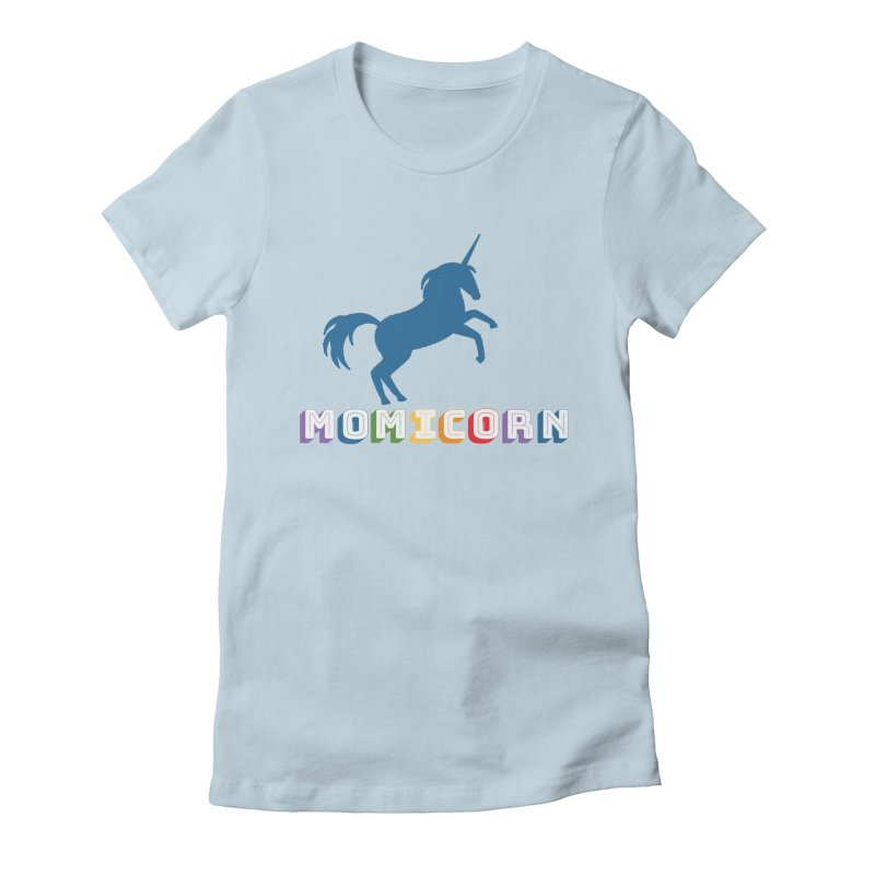 Momicorn Women's T-Shirt by Improv Parenting Shop