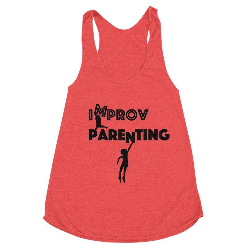 Improv Parenting Women's Racerback Triblend Tank by Improv Parenting Shop