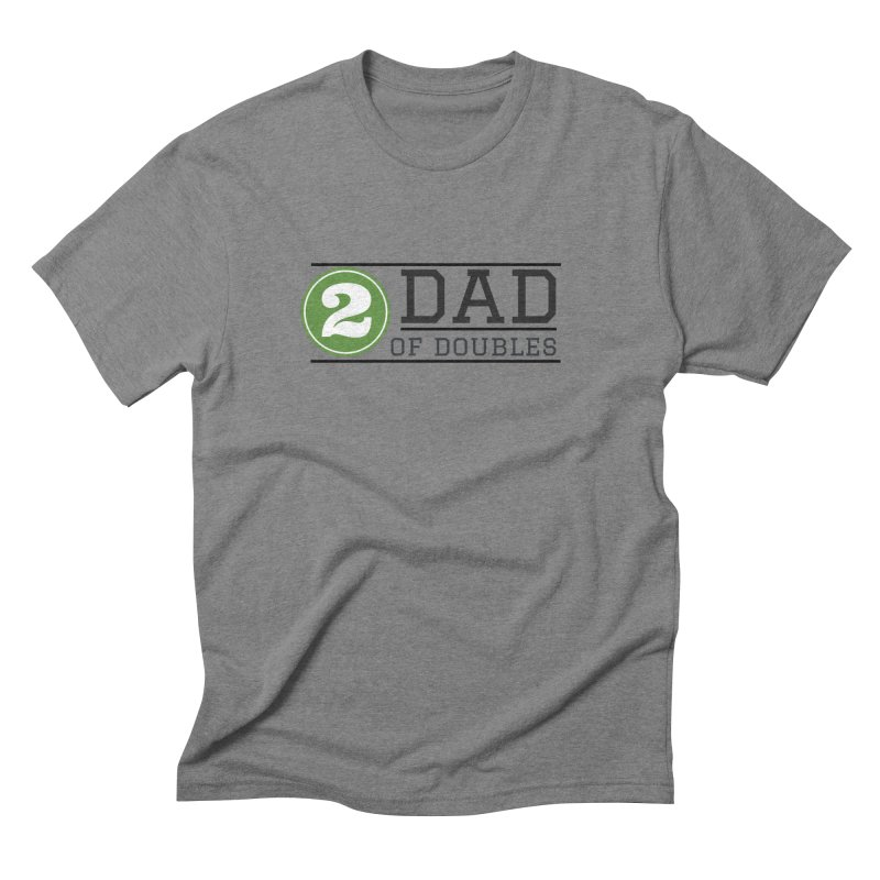 Dad of Doubles Men's Triblend T-Shirt by Improv Parenting Shop