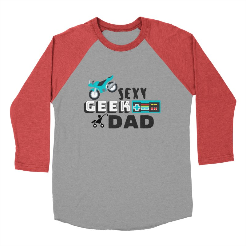 Sexy Geek Dad Men's Longsleeve T-Shirt by Improv Parenting Shop